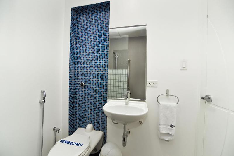 Habitacion Baño - Admision Hospilitaria