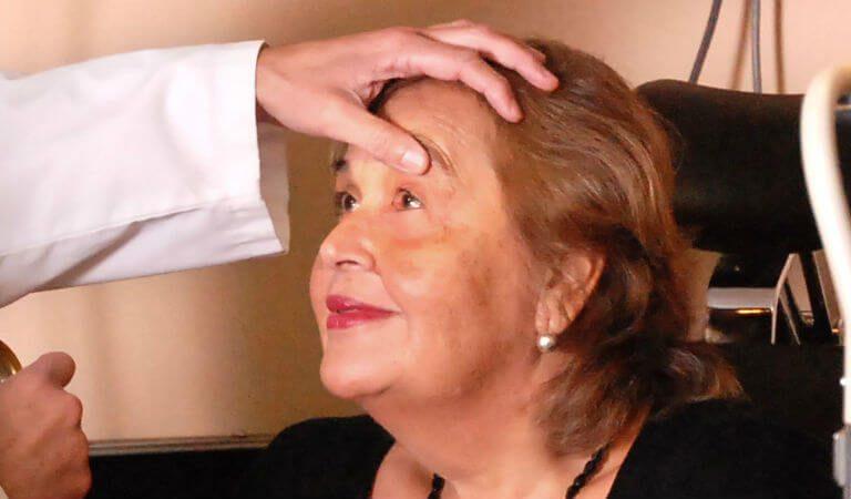 examen oftalmológico