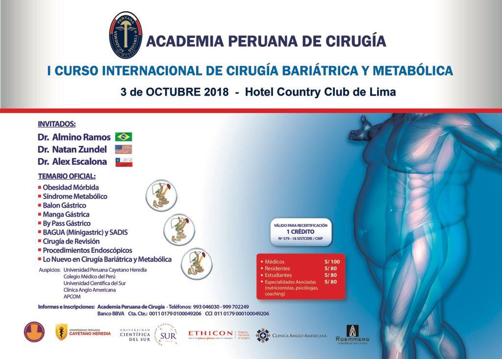 Charla Cirugia bariatrica