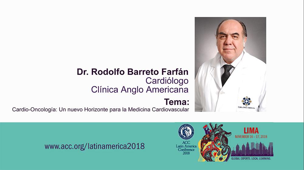 Rodolfo Barreto en conferencia