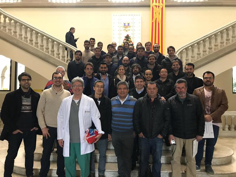 Participación Dr. José Delgado en el II Curso Internacional de Cirugía en Pie y Tobillo