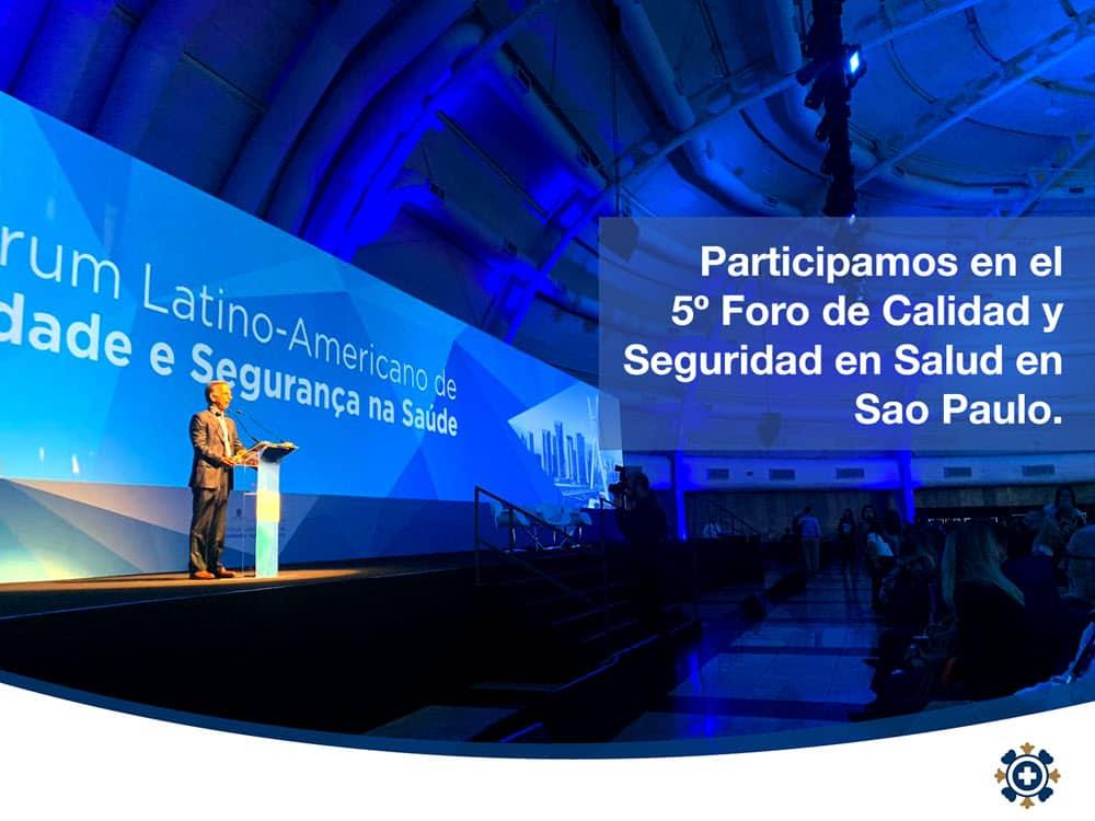 Compartiendo nuestra experiencia en Calidad y Seguridad en Salud en Brasil